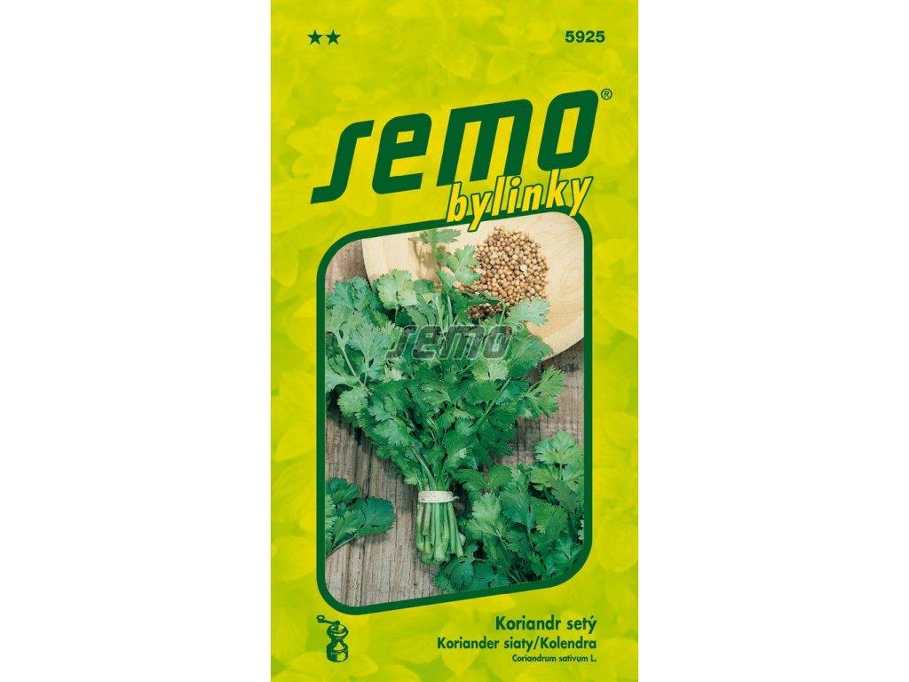 5925 semo bylinky koriandr sety aroma