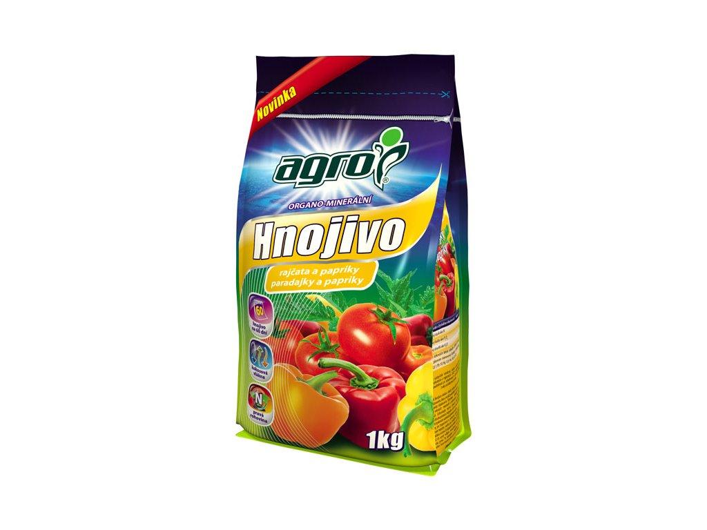 Organo-minerálne hnojivo na paradajky a papriky
