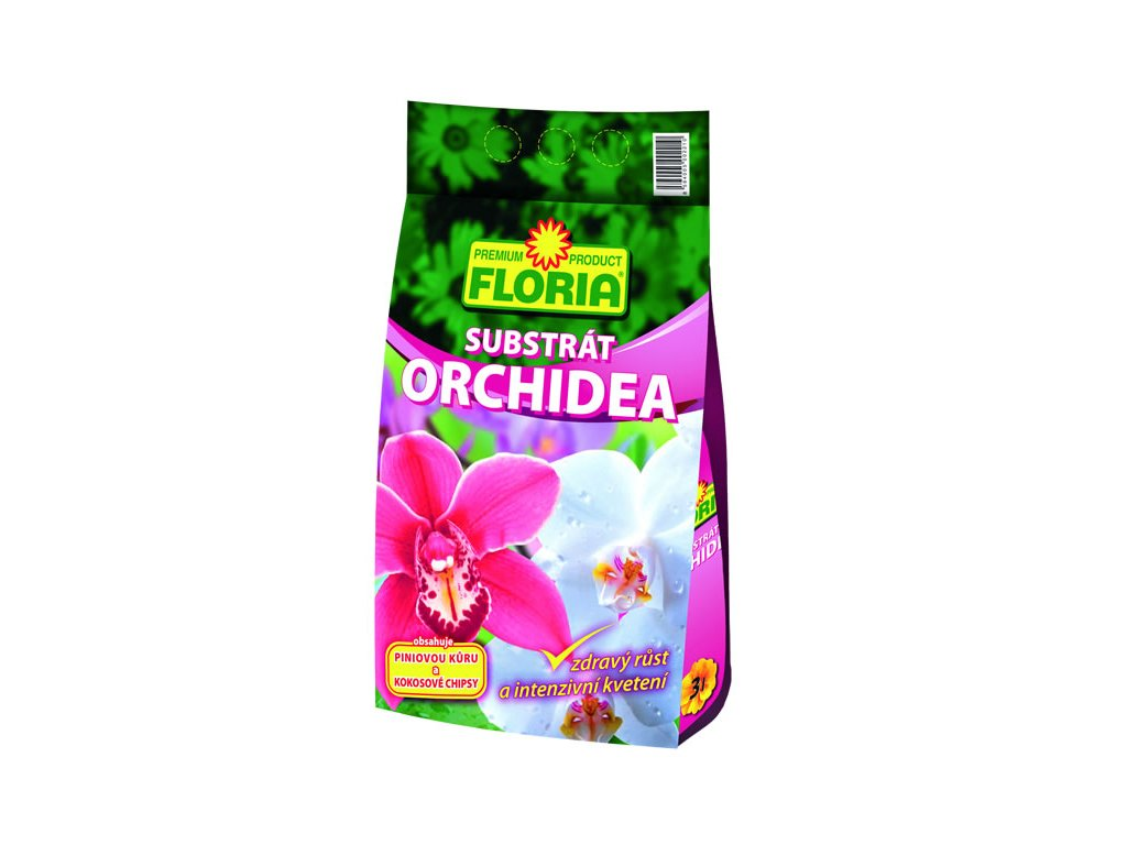 Substrát na orchidey 3 L