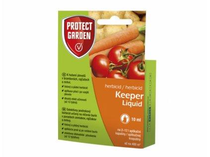 Keeper Liquid (bývalý Sencor)  Ničenie burín bez poškodenia zeleniny