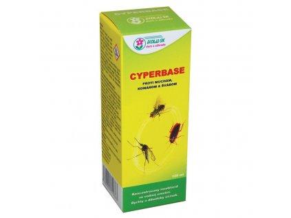 cyperbase postrek proti komarom mucham svabom 100 ml