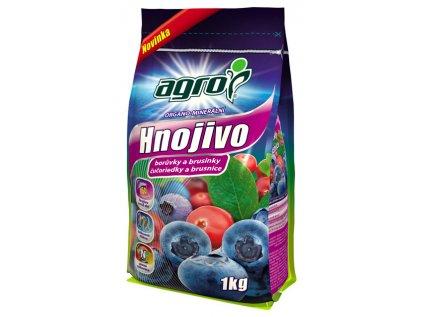 Organicko-mineralne hnojivo pre čučoriedky a brusnice