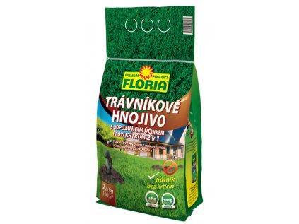 Trávnikové hnojivo s odpudzujúcim účinkom proti krtkom