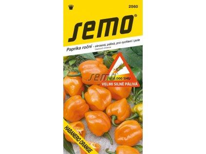 2560 semo zelenina paprika rocni habanero orange