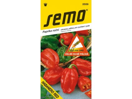 2559 semo zelenina paprika rocni habanero red