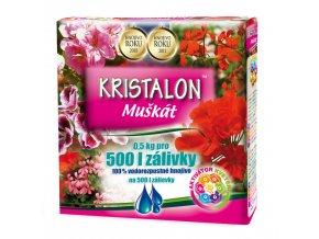 Kristalon Muškát – hnojivo novej generácie