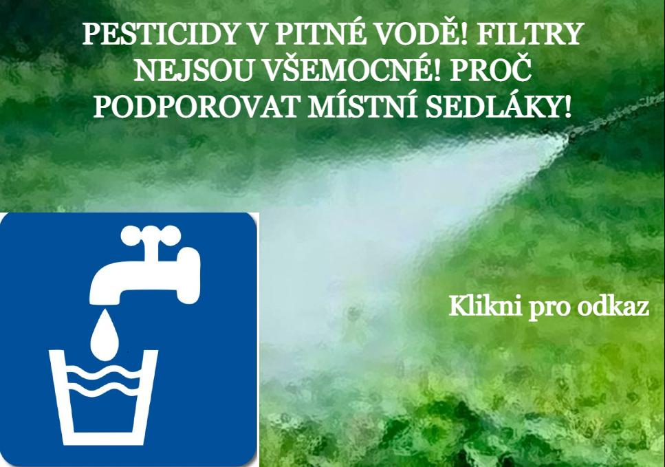 Pesticidy v naší pitné vodě - STÁTNÍ ZDRAVOTNÍ ÚSTAV