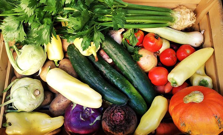 Bio zelenina