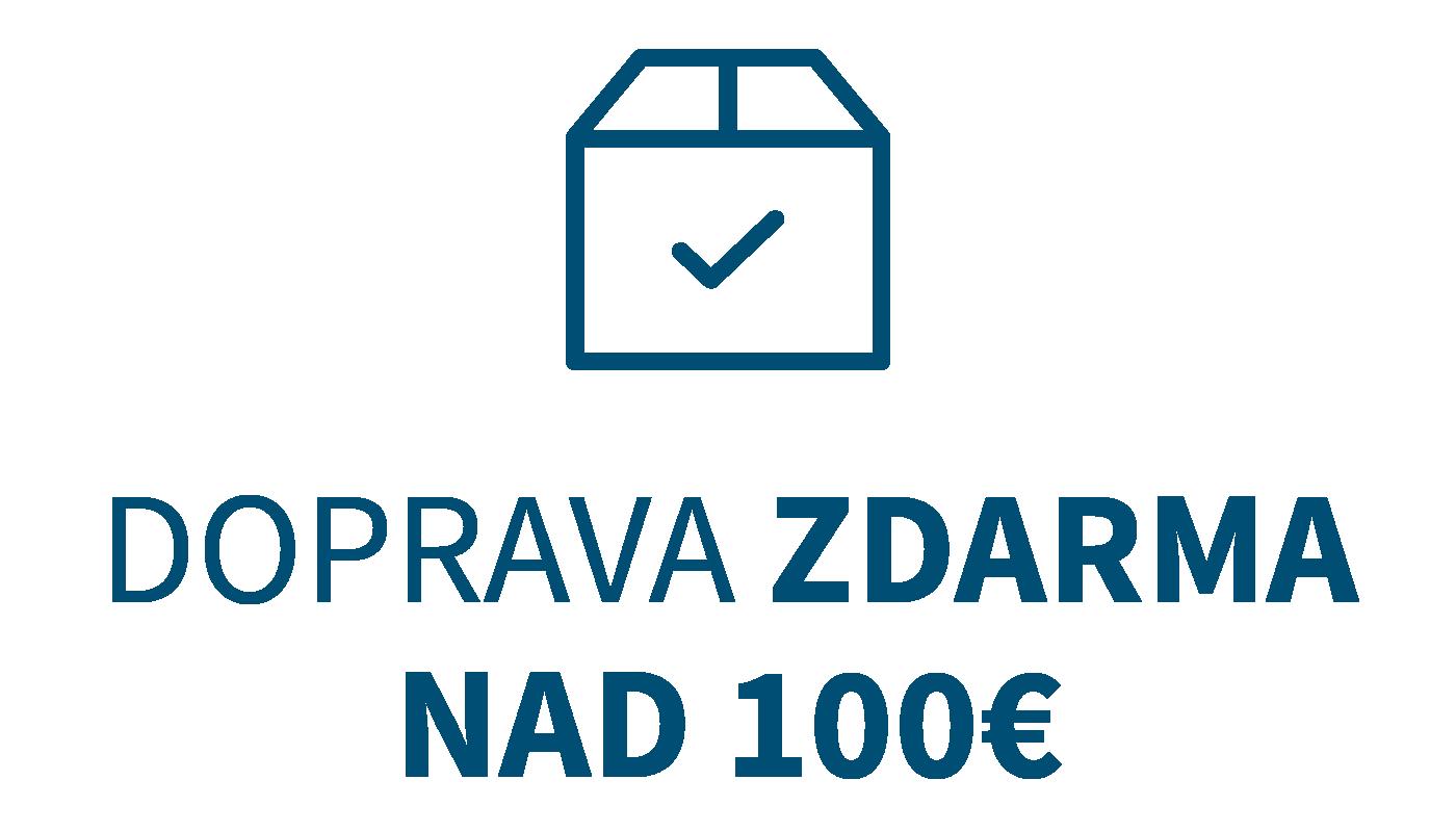 Doručenie kuriérom pri objednávke nad 100 euro zdarma