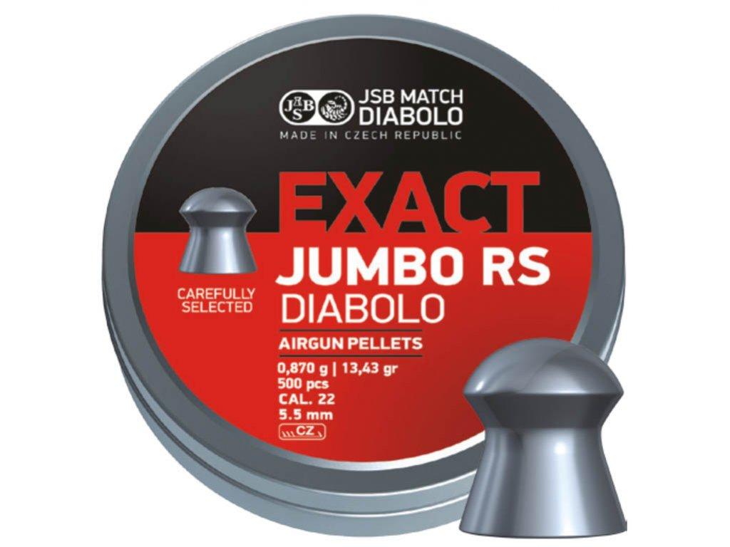 JSB Jumbo  Exact RS kal. 5,52mm - bal. 500ks
