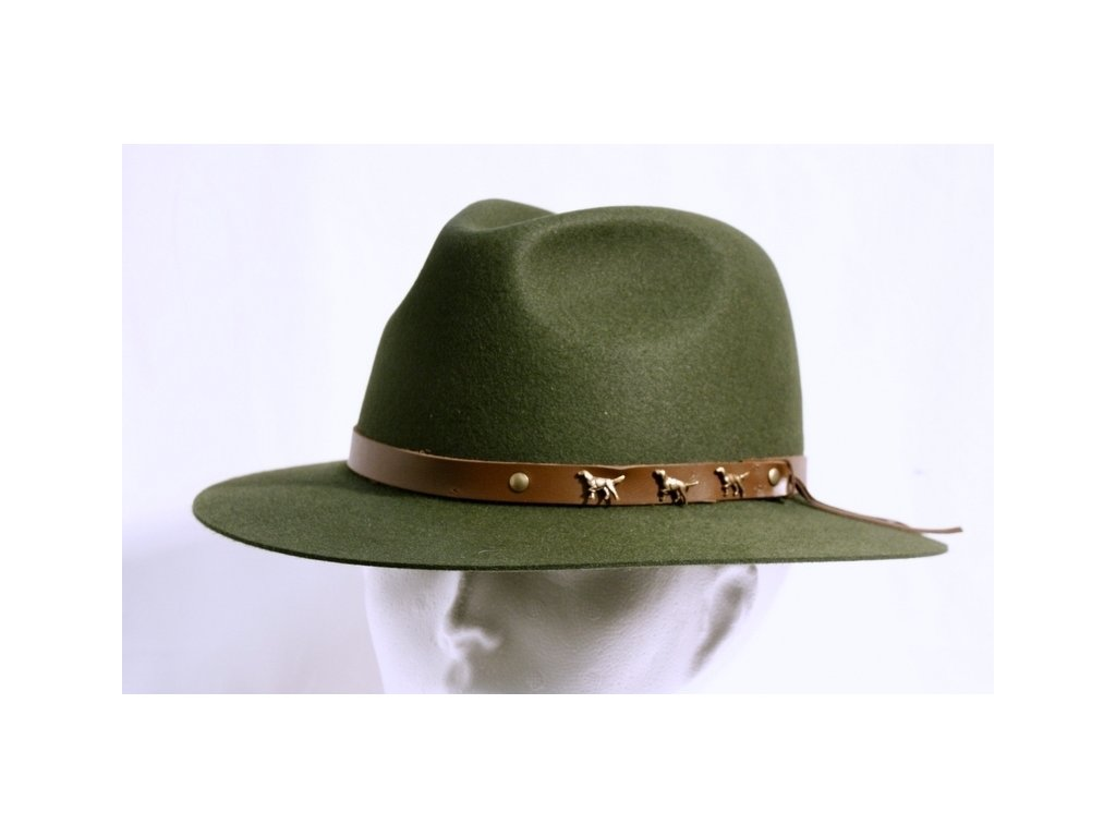 Poľovnícky klobúk - 103 90/07 - veľkosť 58