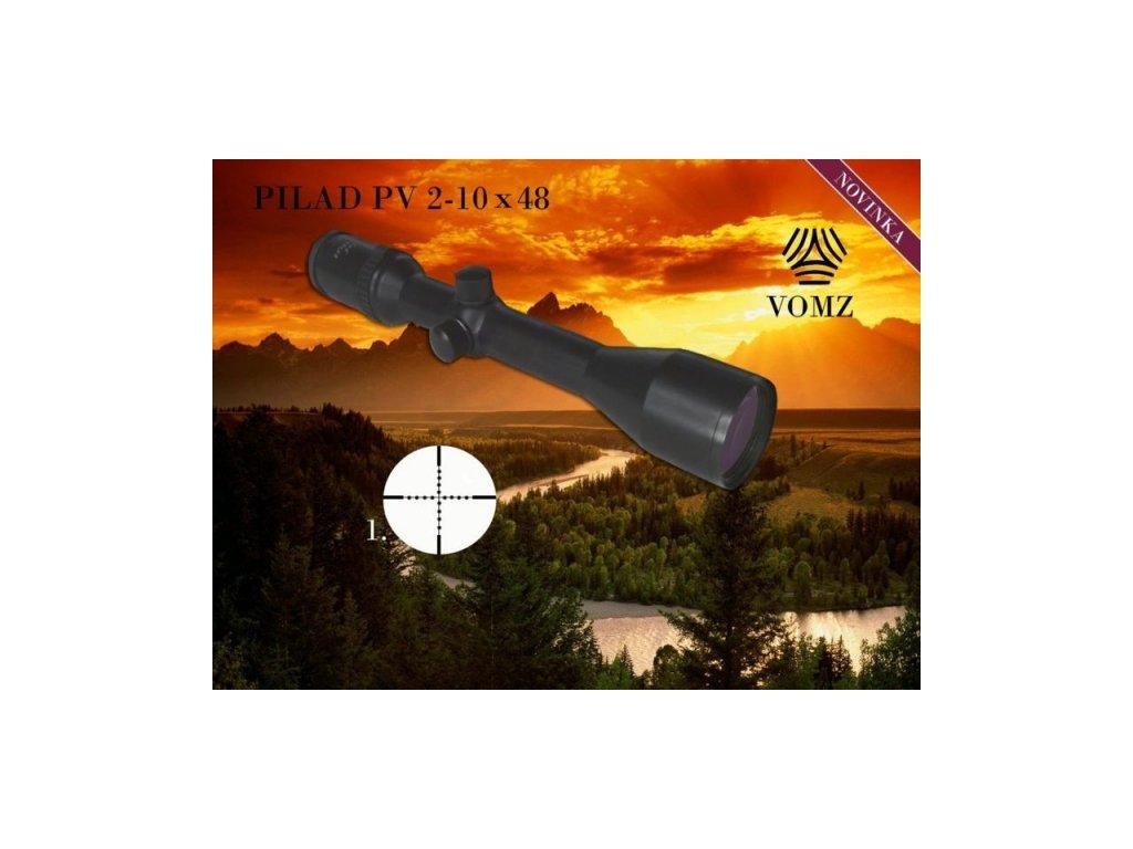 Puškohľad PILAD PV 2-10 x 48 - SA103412