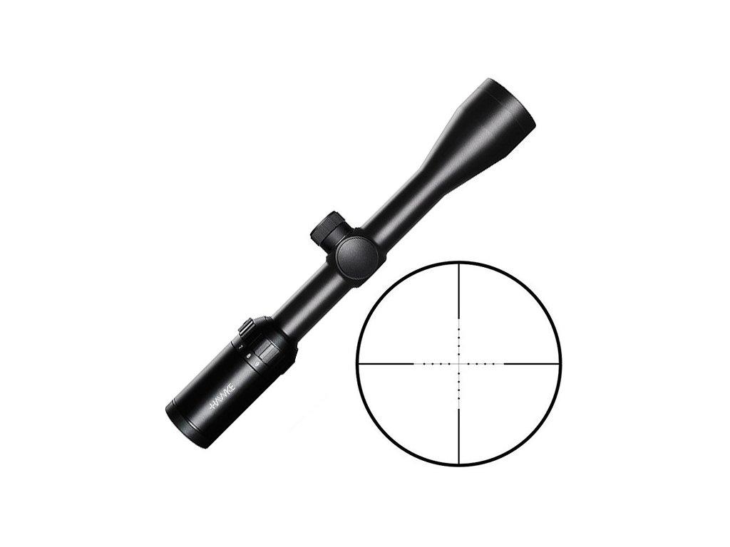 hawke sport optics vantage 3 9x40mm mil dot riflescope black 14121 baa