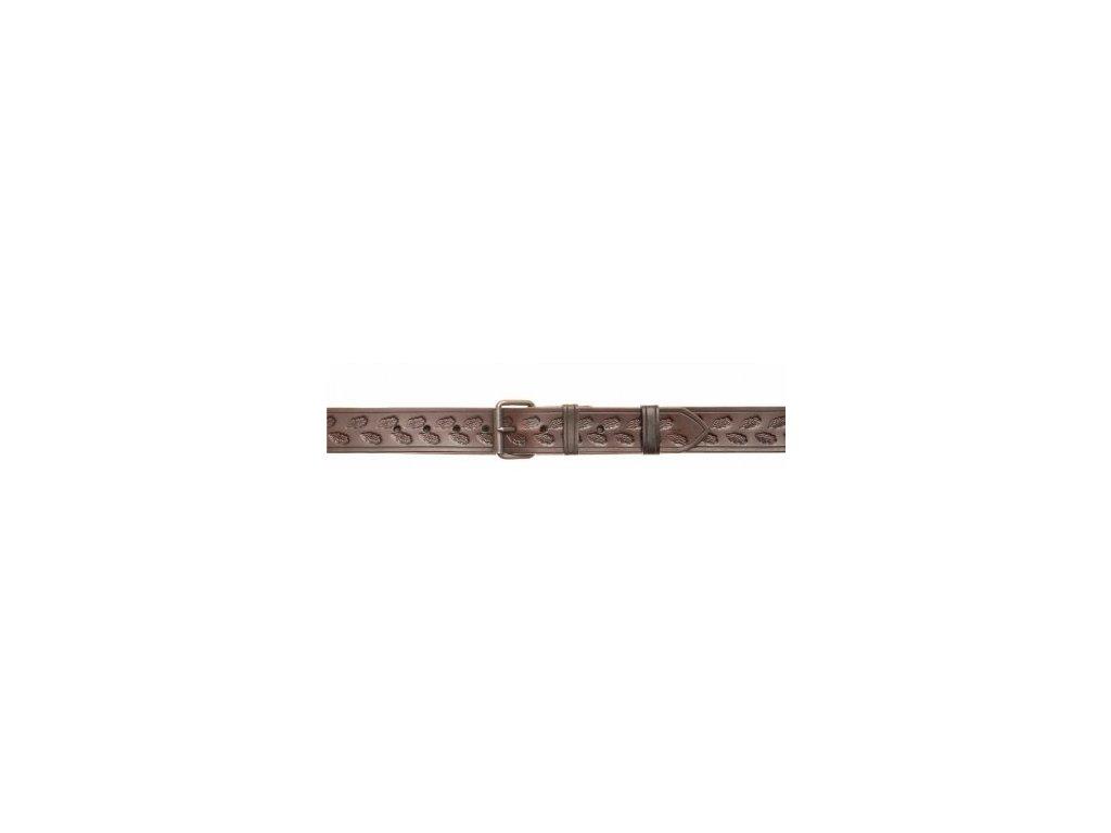 1678 kozeny myslivecky opasek sire 4 cm
