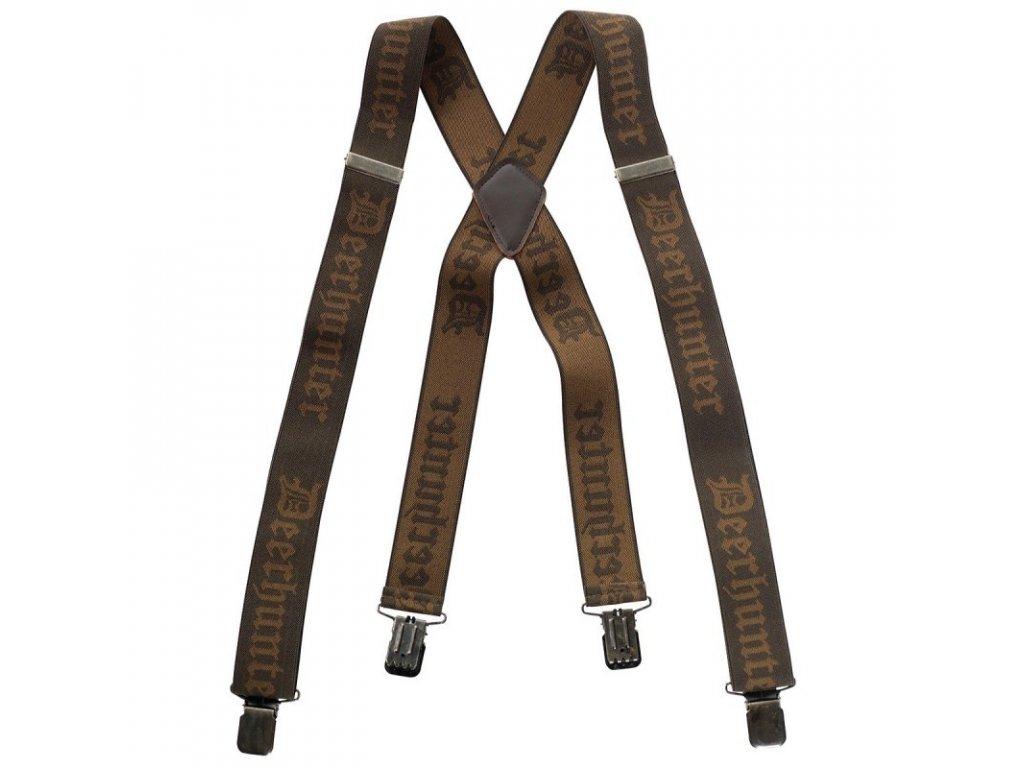 Deerhunter Braces with Clips - traky na klip, 130 cm