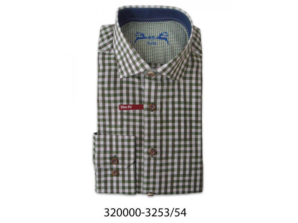 Pánska košela - 32000-3253-54 - DR - Slim fit