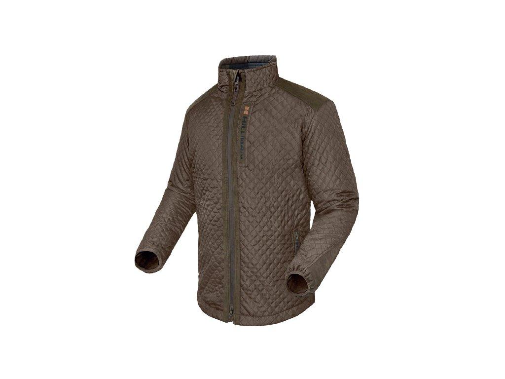Quilted Jacket lovecká bunda farba Dub
