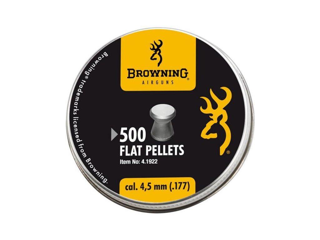 Diabolo Browning Flat 4,5mm - bal. 500ks