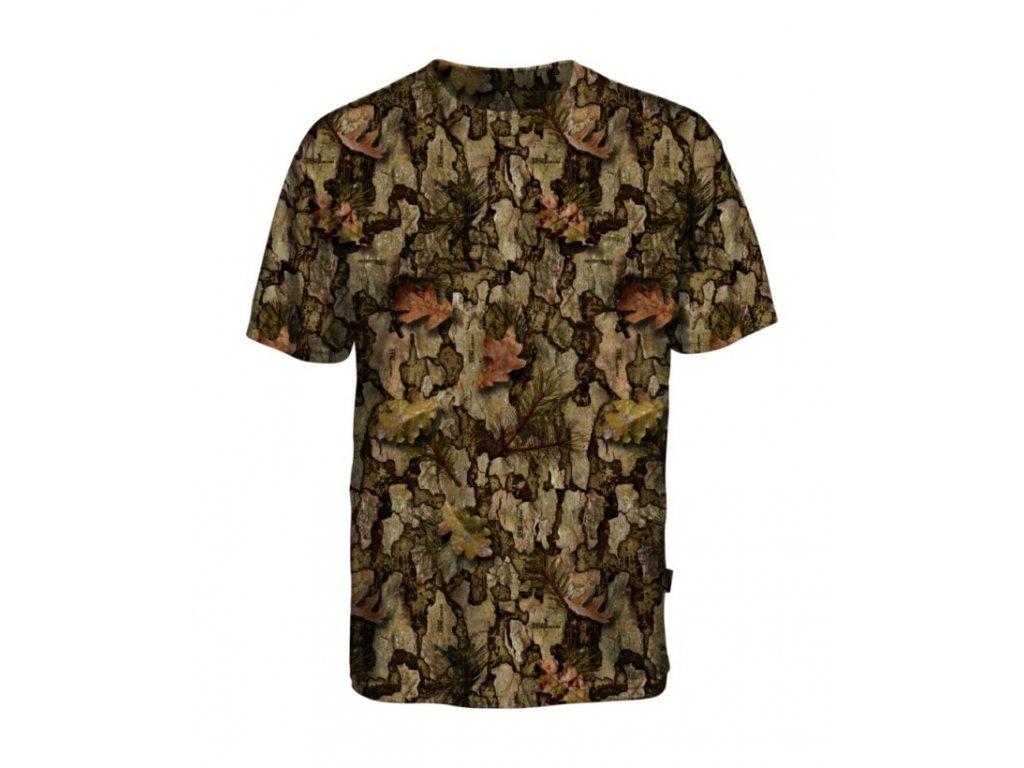 PERCUSSION - Poľovnícke maskovacie tričko -SHIRT MANCHES COURTES GHOST- 15166