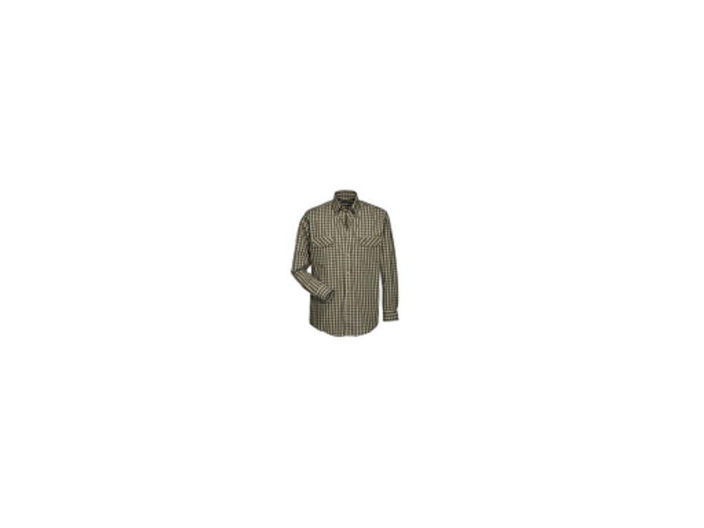 Károvaná košeľa - Wald & Forst - dlhý rukáv - 261307001,02