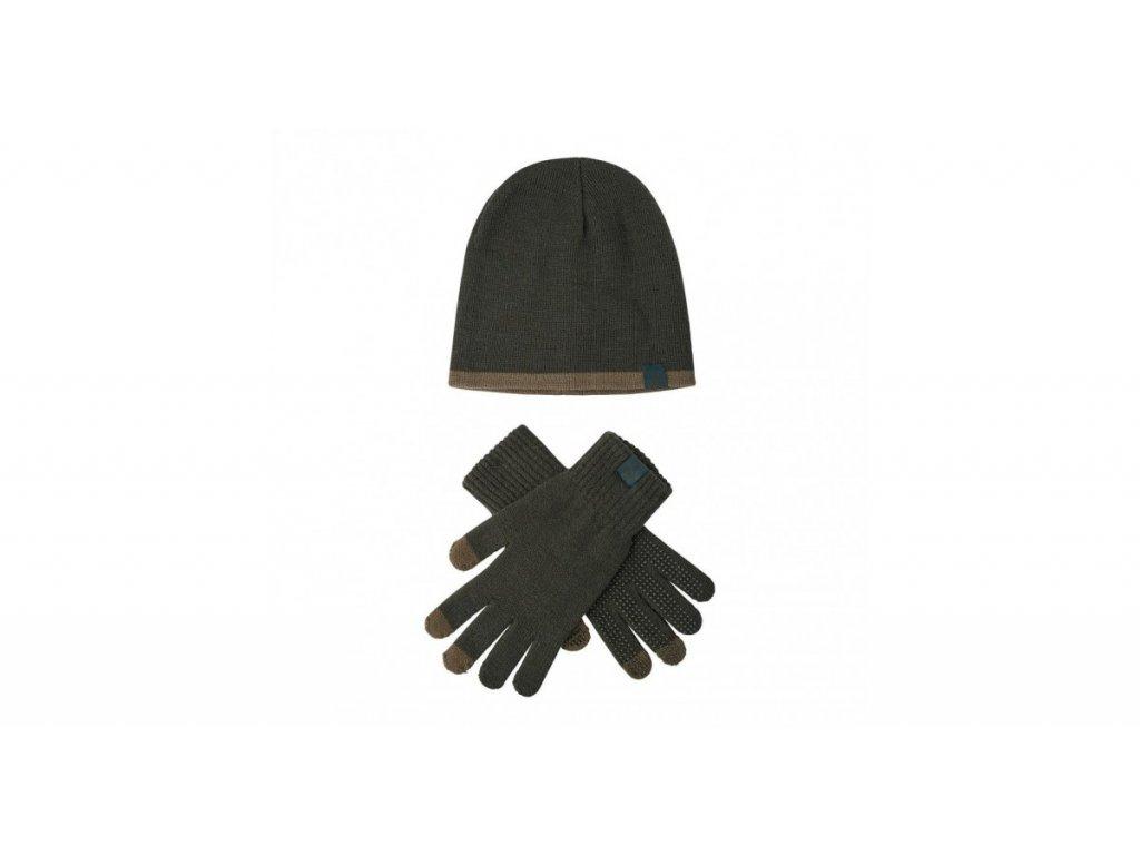 deerhunter hat and gloves set ciapka a rukavice