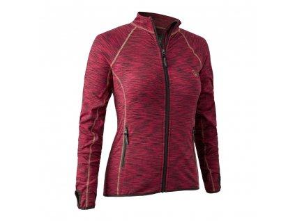 Deerhunter Lady Insulated Fleece - dámska fliska - 5483-456 -red- veľkosť 42