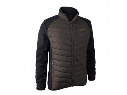 DEERHUNTER Moor Padded Jacket w. Knit Brown   bunda - 5572-571