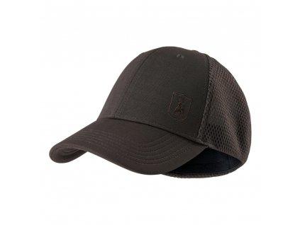DEERHUNTER Flex Cap Brown | šiltovka