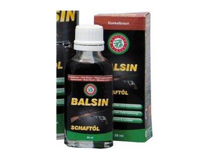BALSIN - 0lej na pažbu tmavohnedý - 50 ml