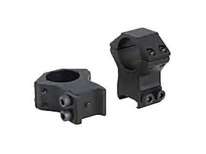 Montáž - Montazna sada, d=25,4mm, Vysoká (výška=20mm, pre Picatinny, Stop-Pin, hliník) - BAU80140