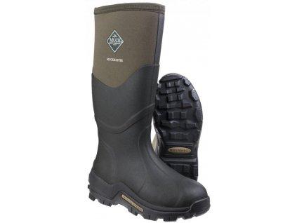 muck boot muckmaster hi green 3