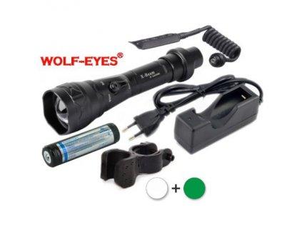Wolf-Eyes X-Beam XP-L Hi 1276Im biela/zelená