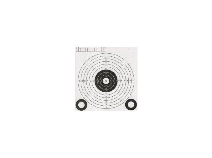 Terč - vzduchovkova 138 x 145mm