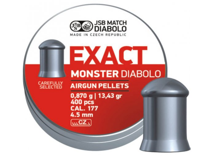 JSB Exact Monster 4,52mm - bal. 400ks