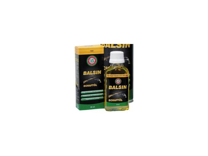 BALSIN - Olej na pažbu - svetlý - 50 ml