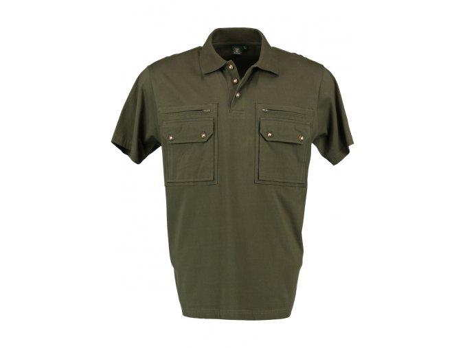 Pánska polokošeľa - zelená - 428001-3103-56