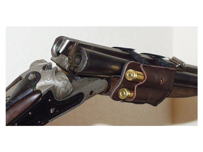 Púzdro na predpažbie na 2 guľové náboje  - NP 25