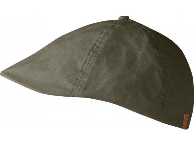 Övik Flat Cap - olivová