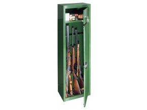 Skriňa na zbrane GUN 5 Green - T04269