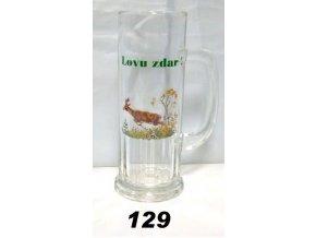 Krigel 0,5 L poľovnícky motív - 129