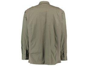 Pánska košeľa zelená hladká -120001-0745/56
