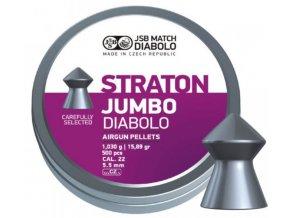 JSB Straton Jumbo - kal.5,50mm - bal.250 ks