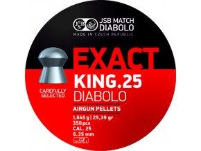 JSB Exact King 6,35mm - bal. 350ks