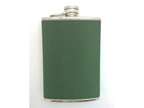S.STEEL FLASK W/OLIVE COVER 8OZ - ploskačka - VGS00242