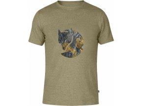 FJÄLLRÄVEN - Rock Logo T-Shirt - tričko