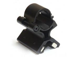 Magnetická montáž pre svietidlo na hlaveň