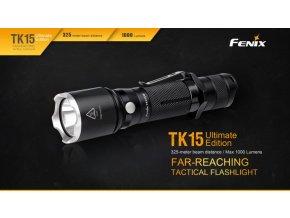 Taktické LED svietidlo Fenix TK15 Ultimate Edition