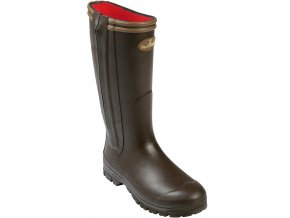 PERCUSSION - Čižmy  - BOTTES CHASSE FULL ZIP RAMBOUILLET - 1745