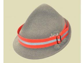 Reflexná páska na klobúk s reflexným pásikom - 0515