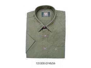 Pánska košeľa tmavozelená-121000-0745/57